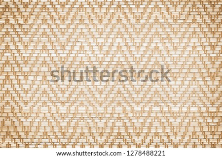 straw weave or mat texture abstract background #1278488221