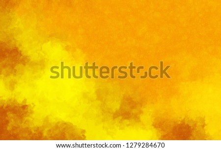 Watercolor paper background. Abstract Painted Illustration. Brush stroked painting. #1279284670