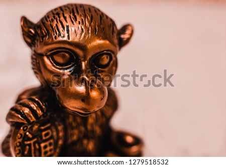 Statue of the ancient monkey  #1279518532