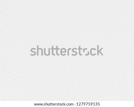 White Paper Texture also look like white cement wall texture. The textures can be used for background of text or any contents on christmas or snow festival. #1279759135