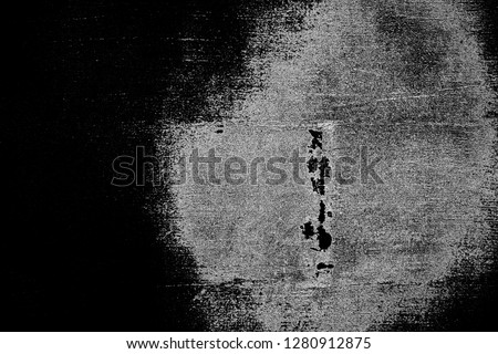 Abstract background. Monochrome texture. Image includes a effect the black and white tones. #1280912875