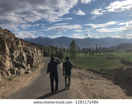 The wonderful experience in Ladakh , India.The fantastic view , simple villagers , and an excited adventure. #1281172486