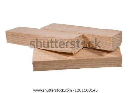 firewood isolated on white background #1281180145