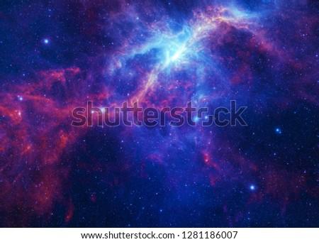 Nebulous Nebula - Elements of this Image Furnished by NASA