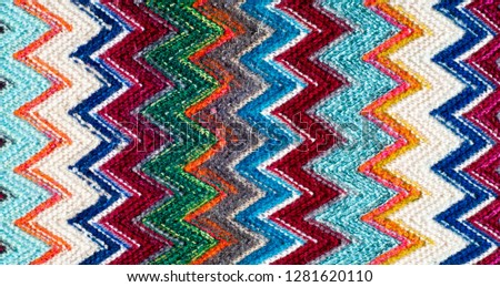 Missoni fabric wool texture #1281620110