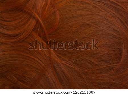 red golden hair texture background   #1282151809