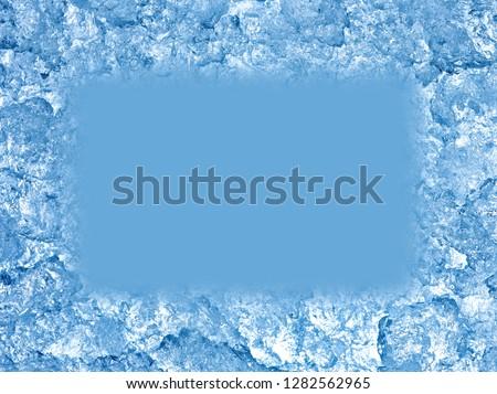 close up of ice #1282562965