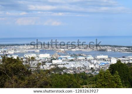 Cityscape of Shizuoka Shimizu-ku #1283263927