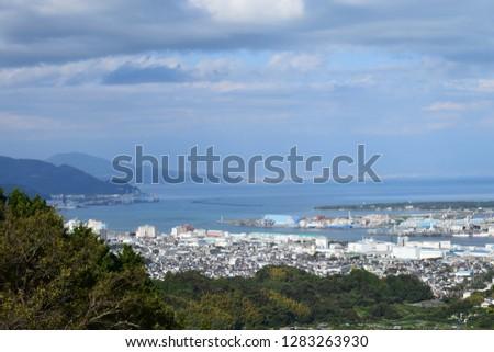 Cityscape of Shizuoka Shimizu-ku #1283263930