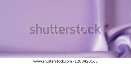 background texture, pattern. Lilac silk fabric.  It is a smooth, matte finish, and it gets its lightness from twisted yarns. designers, love them. The possibilities are really endless! #1283428165