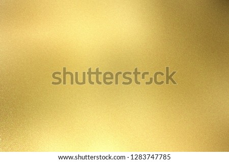 Glowing light gold metal wall texture, abstract pattern background #1283747785