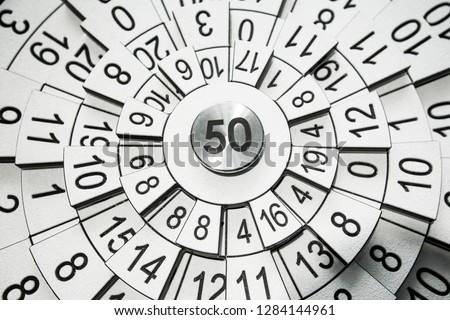 Numerology abstract wallpaper
