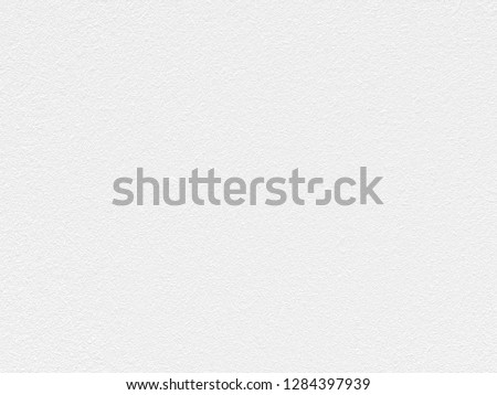 White Paper Texture also look like white cement wall texture. The textures can be used for background of text or any contents on christmas or snow festival. #1284397939