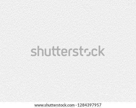 White Paper Texture also look like white cement wall texture. The textures can be used for background of text or any contents on christmas or snow festival. #1284397957