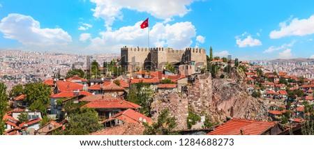Ankara Castle, Ankara capital city of Turkey  #1284688273