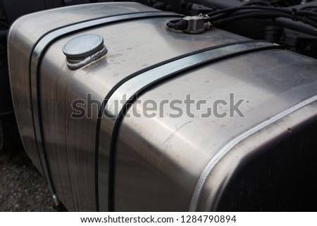 fuel tank freight transport #1284790894