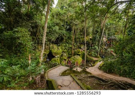 Dec 26/2018 late afternoon at Goa Gajah, Bali, Indonesia #1285556293