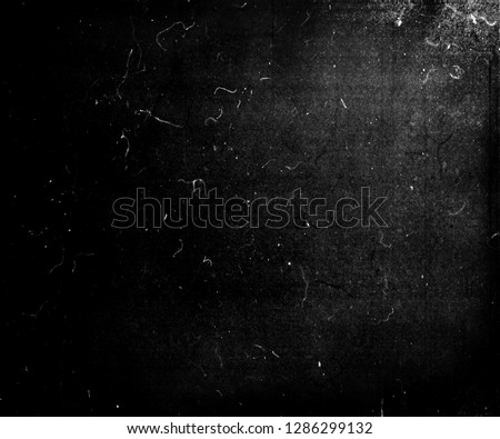 Black scratched grunge background, scary horror distressed texture #1286299132