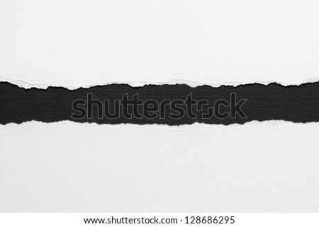 White ripped paper Royalty-Free Stock Photo #128686295