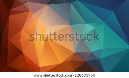 Abstract wallpaper, consisting of triangles