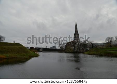 St Alban's Church in Copenhagen, Denmark, Scandinavia, Europe #1287558475