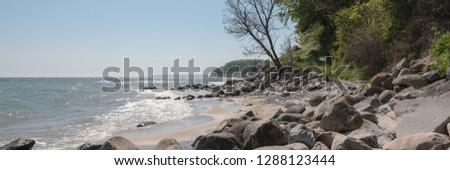 Denmark, Moen, Baltic Sea coast #1288123444