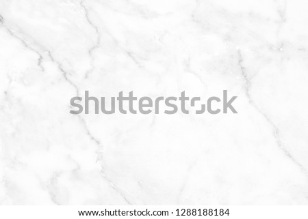 White marble surface for do ceramic counter, white light texture tile gray background marble natural for interior decoration and outside. #1288188184