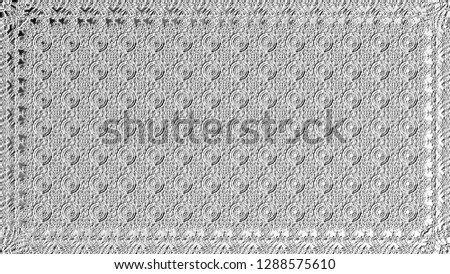 Black and white relief convex pattern for design #1288575610