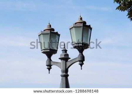 Street lights in Japan. #1288698148