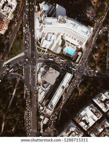 Aerial shot of Athens, Greece #1288715311