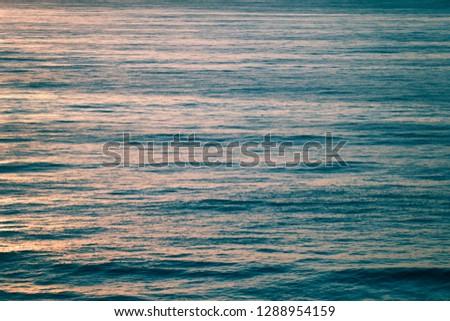 Scenic Ocean Sunset #1288954159