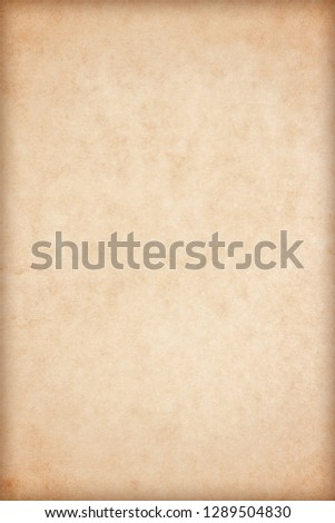 Old Paper texture. vintage paper background or texture; brown paper texture #1289504830
