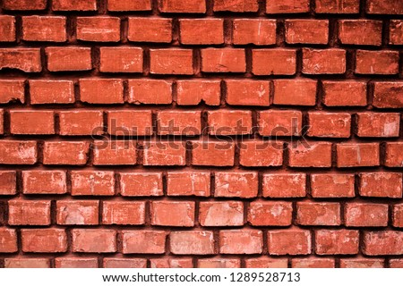 texture background architecture wal brick pattern block surface cement material old  red structure backdrop rough stone grunge construction wallpaper brown concrete brickwork vintage urban textured #1289528713