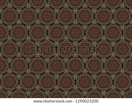 Colorful seamless repeating tile pattern  #1290023200