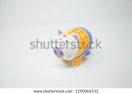 piggy bank with white background #1290066532