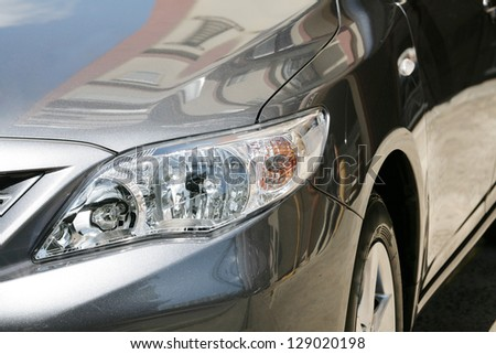 detail of a luxury car #129020198
