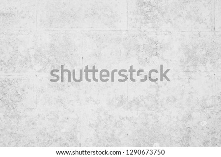 Abstract white and gray concrete tile wall textures and surfaces for background #1290673750