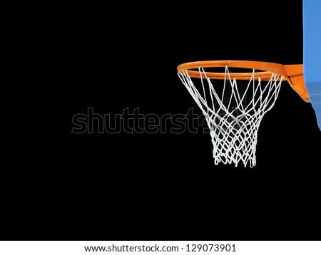 Basket on black background #129073901