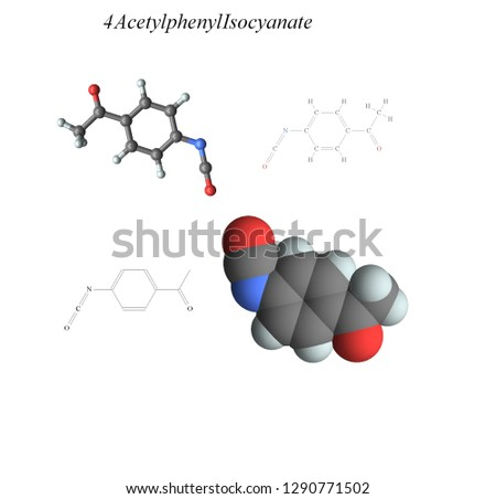 Molecular structure, 3D molecular plot and structure diagram, amines #1290771502