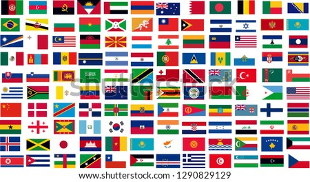 country flags drawing, country flags vector,all country flags, flags,vector flags set #1290829129