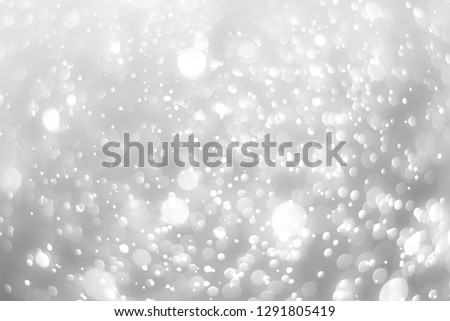abstract white background with blur soft bokeh light effect #1291805419