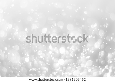 abstract white background with blur soft bokeh light effect #1291805452