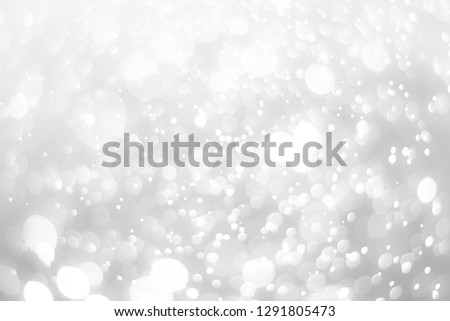 abstract white background with blur soft bokeh light effect #1291805473