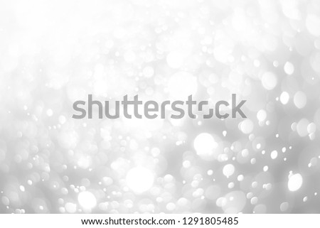 abstract white background with blur soft bokeh light effect #1291805485