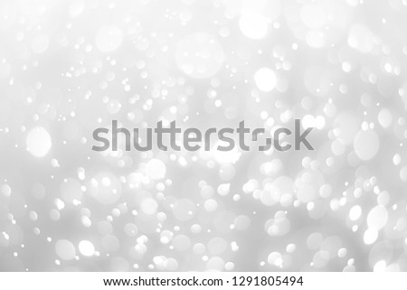 abstract white background with blur soft bokeh light effect #1291805494