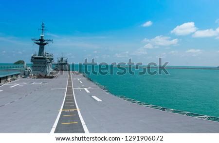 Warship aircraft carrier #1291906072