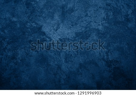 Nebules blue texture decorative Venetian stucco for backgrounds #1291996903