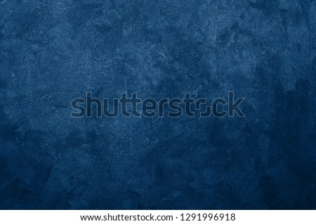 Nebules blue texture decorative Venetian stucco for backgrounds #1291996918