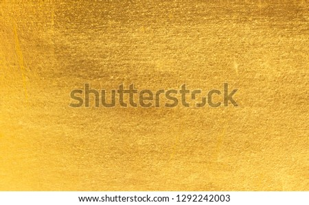 Gold foil texture background #1292242003
