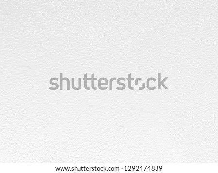 White Paper Texture also look like white cement wall texture. The textures can be used for background of text or any contents on christmas or snow festival. #1292474839